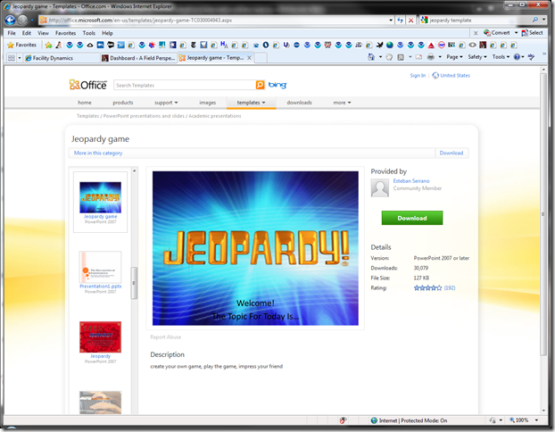 Jeopardy game - Templates - Office.com - Windows Internet Explorer 12182011 63706 PM