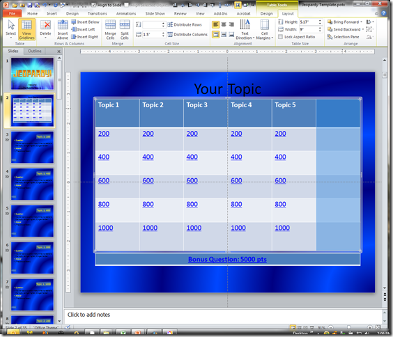 Jeopardy Template.potx - Microsoft PowerPoint 12182011 70951 PM