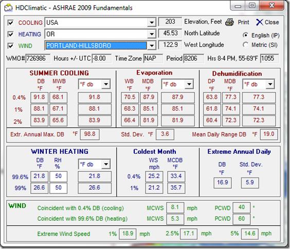 HDClimatic - ASHRAE 2009 Fundamentals 3212012 101155 AM