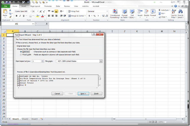 Microsoft Excel - Book1 3202012 24613 PM