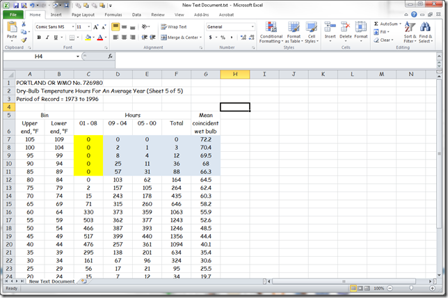 Microsoft Excel - New Text Document.txt 3202012 30954 PM