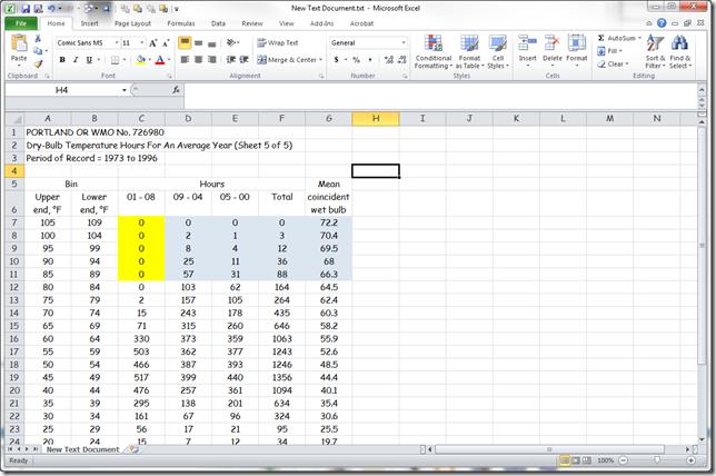 Microsoft Excel - New Text Document.txt 3202012 30954 PM