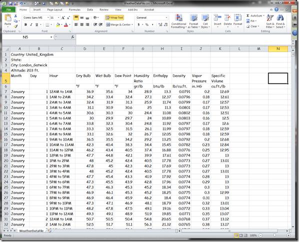 Microsoft Excel - WeatherDataFile.csv 3212012 91924 AM