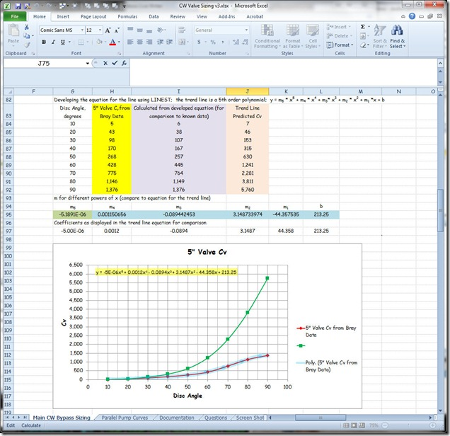 how to use linest in excel 2010