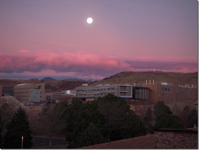 Moon at Sunrise 03