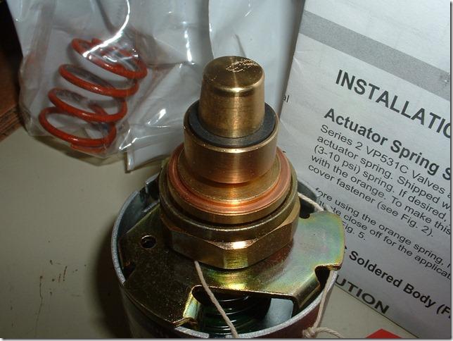 New valve plug