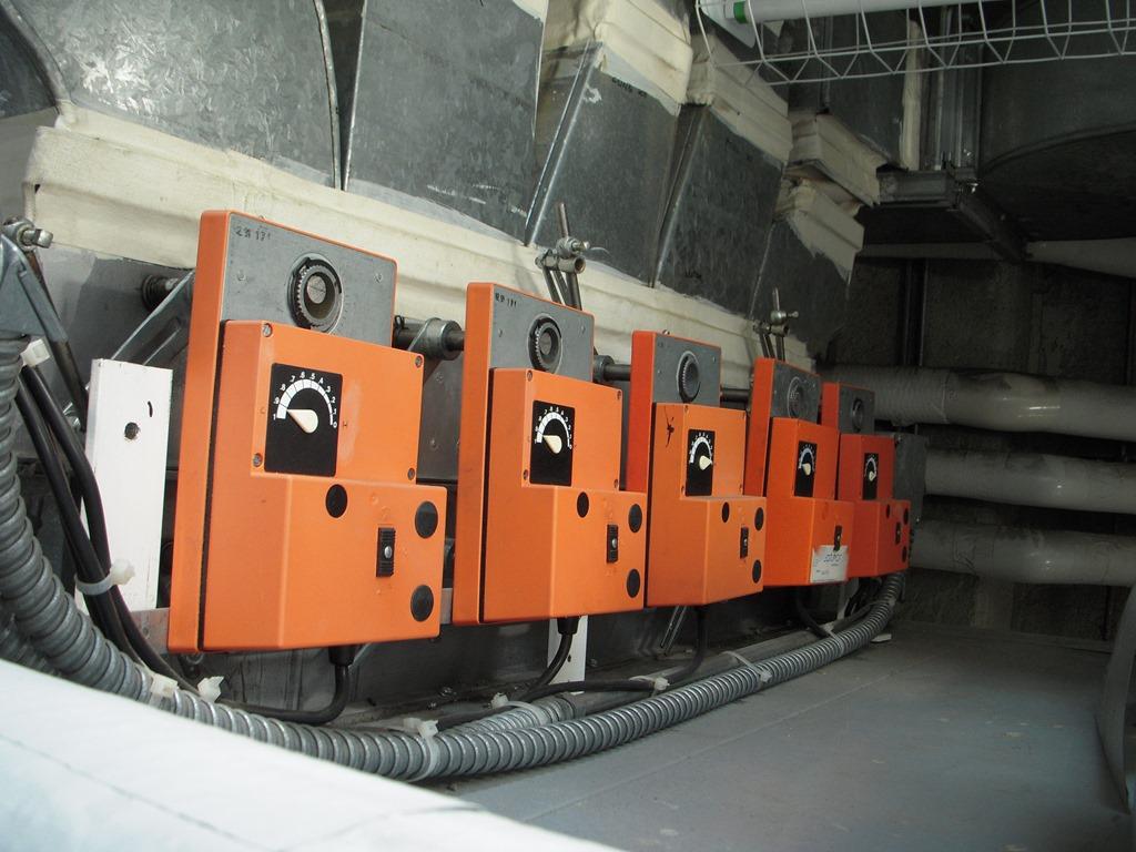 Air Damper Design Air Damper Sections in a
