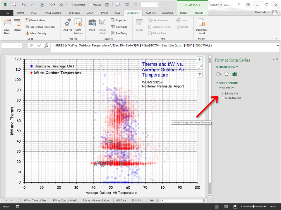 how to add secondary axis in excel scatter plot